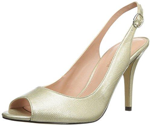 Enzo Angiolini Women's Mykell Dress Pump,Silver,8.5 M US (Angiolini Footwear Enzo)