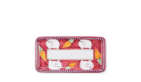Vietri Porco Rectangular Platter Campagna Collection POR-1041N