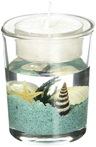 Stunning Beach-themed Candle Favor (20)]()