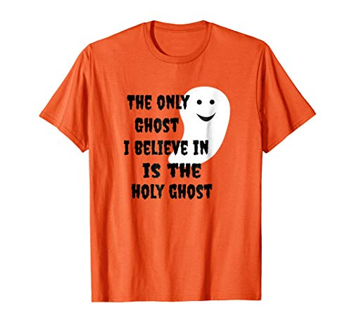 Christian Halloween Holy Ghost Trunk or Treat T Shirt ()