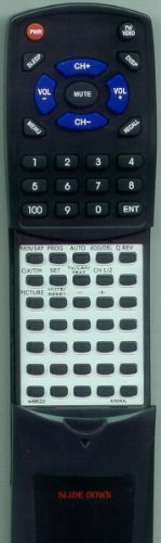 ADMIRAL Replacement Remote Control for 64532340, JSA12670, JSJ12687, JSA12677, 64565222 (Admiral Tv Remote compare prices)
