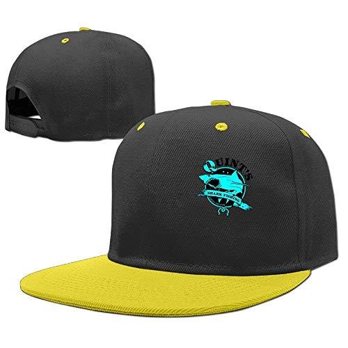 RGFJJE Hats Gorras 2 Hop béisbol Boy Girls Shark Baseball Fishing Cap Quint's Hip axSwrYadq