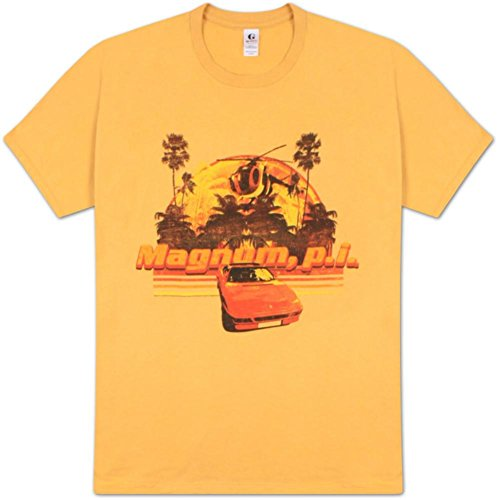 pper and Ferrari Gold T-Shirt [Apparel] Large/ Yellow (Magnum Apparel)