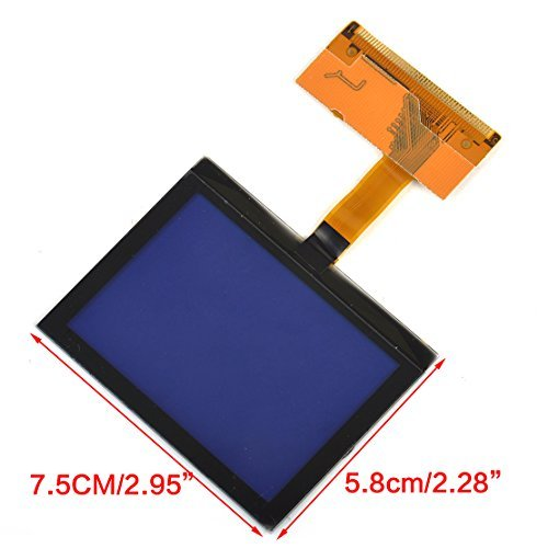 beler LCD Instrument Repair Cluster Speedometer Display Screen for Audi A3 A6 S6 C5 TT 8N Series (Fulfilled by hermeshine)