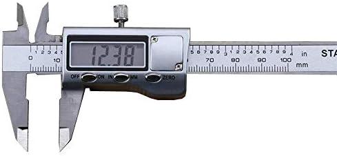 Micrometer Measuring Digital Calipers Electronic Digital Caliper Metal 100Mm Stainless Steel Vernier Caliper