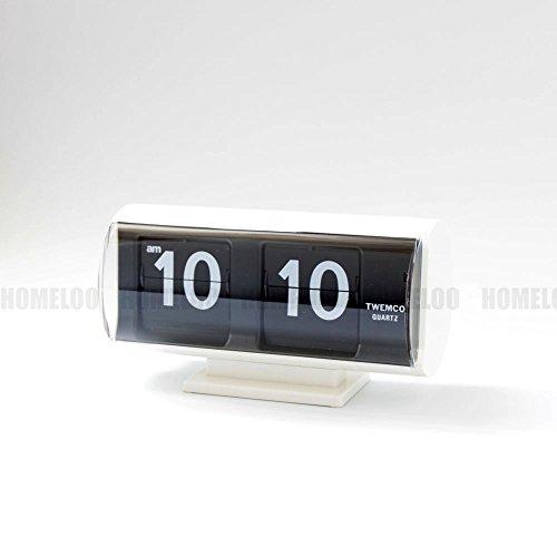 Homeloo Twemco Retro Modern Germany Quartz Flip Clock Qt30t ()