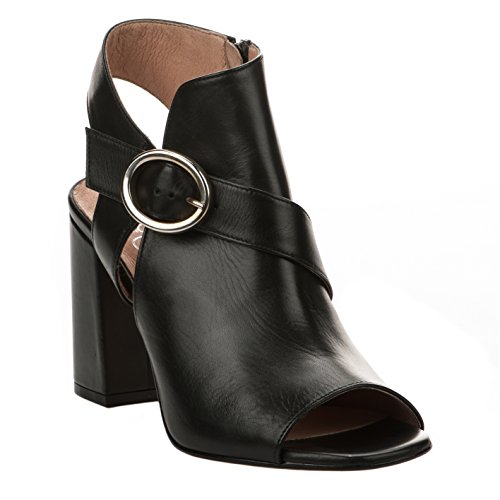 Miglio Femme Millim Pieds Un Noir Sandalo 8456 39027 xtdpww0