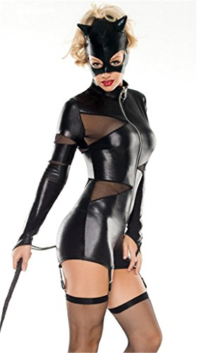 Women/'s Cat Fight Costume
