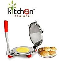 Kitchen Khajana Stainless Steel Puri Press