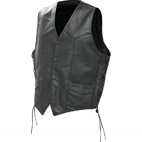 Solid Leather Vest - 9