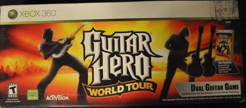 Guitar Hero World Tour Dual Guitar Game - XBox 360