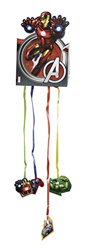 Avengers Assemble Multi Heroes Party Paper Flag Banner Bunting ()