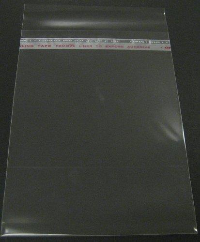 Golden State Art, 100- 8 1/4 x 10 1/8 clear Bag for 8x10 mat matting by Golden State Art