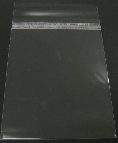 Off Print Photo - Golden State Art, 100-8 1/4 x 10 1/8 clear Bag for 8x10 mat matting