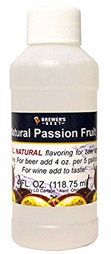 Passion Fruit Wine (Brewer's Best Natural Fruit Flavoring-Passionfruit)