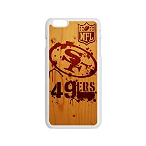 NFL San Francisco 49ers Logo Cell Phone Case for Iphone 6
