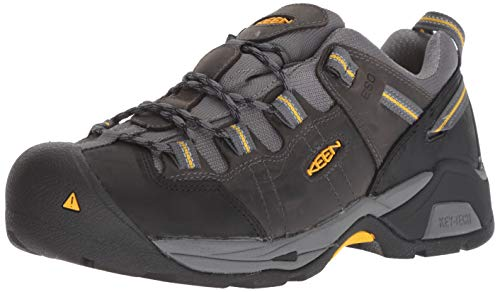 KEEN Utility Men's Detroit XT ESD (Soft Toe) Work Boot for Electronic & Technology Jobs Industrial, Magnet/Steel Grey 9 2E US ()