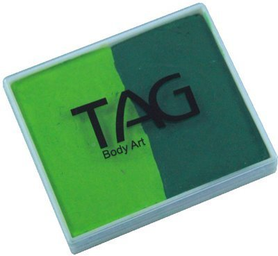 TAG Split Cakes - Light Green and Medium Green (50 gm)]()