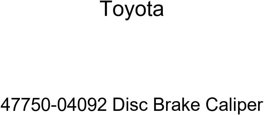 Calipers Without Pads TOYOTA 47750-04092 Disc Brake Caliper ...