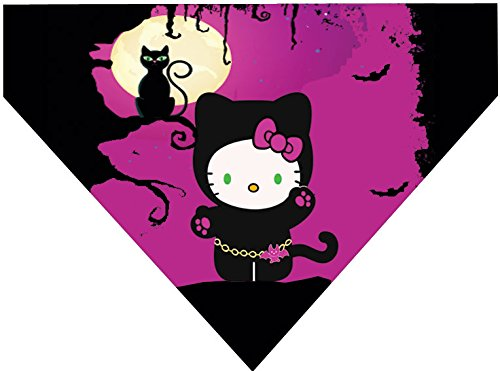 Plus Size Hello Kitty Costume (Halloween Over the Collar Dog Bandana - Hello Kitty Kitty Costume)