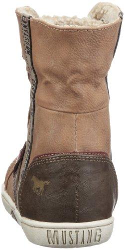 602 Marron 1098 307 femme Cognac Chaussures montantes Mustang 5xzpCwqw