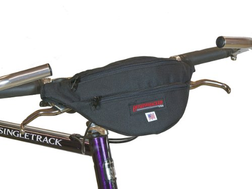 Bushwhacker® Newport – Handlebar bag / Hip Pack Black