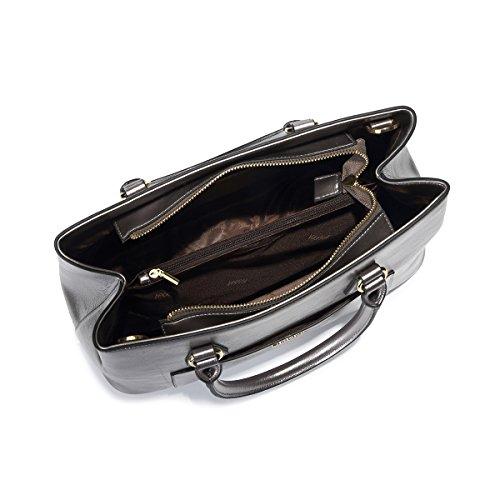 per Silver pelle in Borsa Blue Kadell a tracolla amp;purple PU donna Dark SqYxa4