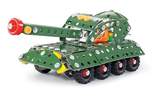 Lightahead® Assembly Metal Military Tank Model Kits Toy War Tank to Assemble.