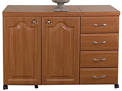 Amazon Model 7600 Space Saver Sewing Cabinet Pocket Doors