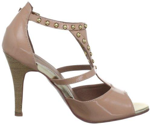 Sofie Schnoor PATENT LEATHER PUMPS S131607 - Sandalias de cuero para mujer Beige (Beige (Nude))