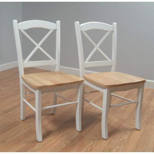 Amazon.com: TMS Tiffany blanco natural colección de comedor ...