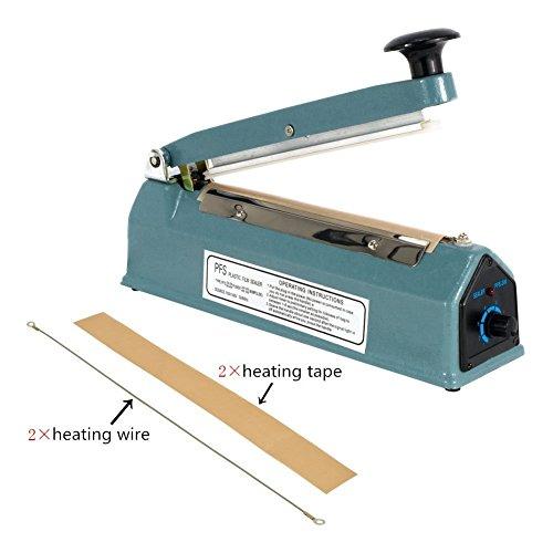 metronic-blue-8-inch-impulse-manual-bag-sealer-heat-seal-closer