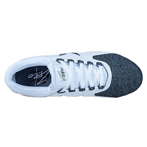 Nike Nike-mens Nike Air Max Zero Se Shoe-white/Armory Blue-black-armory Blue 918232-100, Sneaker uomo nero Black US 6 - EU 38.5 - UK 5, nero (Black), US 13 - EU 47.5 - UK 12