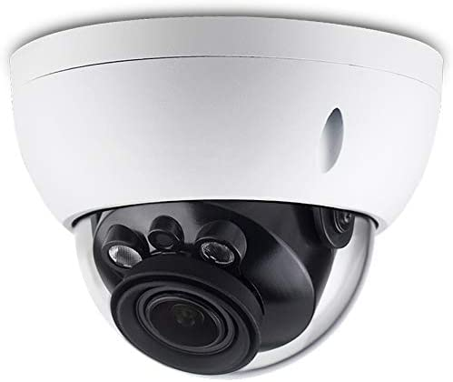 4MP PoE IP Network Camera IPC-HDBW4433R-ZS, 2.7mm 13.5mm Varifocal Motorized Lens,5X Optical Zoom, 2K HD 2592 1520 , Outdoor Surveillance Dome Camera,IR Night Vision 98ft,SD Slot,IP67,IK10,WDR,ONVIF