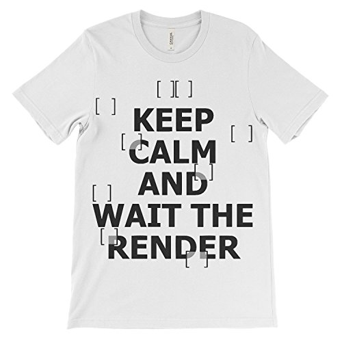 Calm Render Donna Shirt Wait T Shirt Architetto Tee Architetto Tee The Ash for Keep XqgwZx