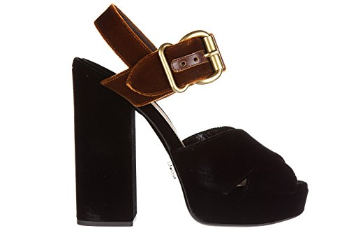 cheap store Prada Women's Platform Sandals Black free shipping release dates buy online with paypal huge surprise for sale free shipping in China 6mEZav