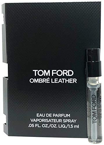 Tom Ford Ombre Leather Eau De Parfum Spray Vial For Men 0.05 Oz / 1.5 ml Sample Size (Tom Ford-in The Pink)
