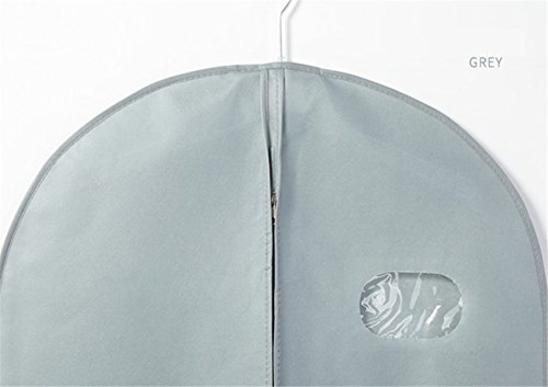 """YAAGLE Garment Cover Breathable Dust Bag 39.4"""",50.4"""",59""""Storage Suits Coats Dresses by YAAGLE (Image #2)"""