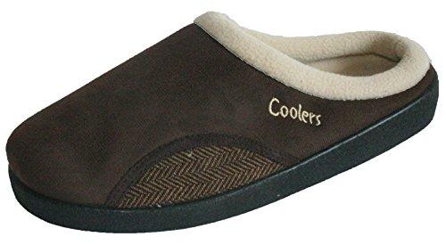 Coolers , Herren Hausschuhe Brown/tweed
