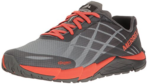 形倫理浸漬Womens Merrell Trail Running Sneakers Bare Access Flex Shoes [並行輸入品]