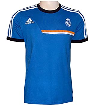 adidas Camiseta Real Madrid, Azul Real, 128: Amazon.es: Deportes y ...