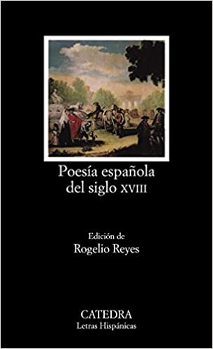 Poesía española del siglo XVIII (Letras Hispánicas): Amazon.es: PRIETO, Reyes Cano, Rogelio: Libros