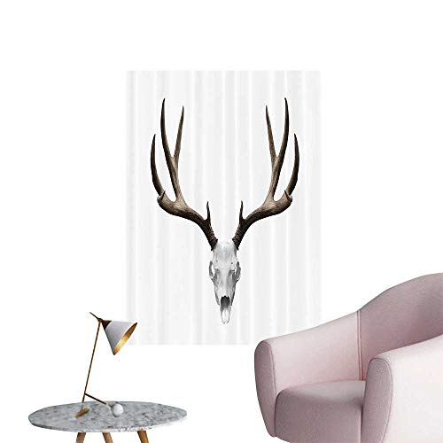 Wall Painting A Deer Skull Skelet Head Halloween Weathered Hunter Collecti Bathroom High-Definition Design,28