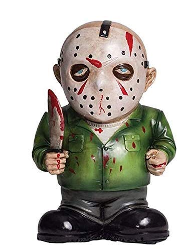 Morbid Lawn Gnome (Jason Voorhees, multi-colored)]()