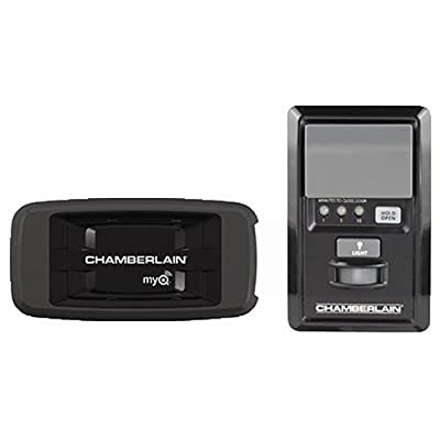 Chamberlain CIGCWC Smartphone Connectivity Kit for Chamberlain Garage Door Openers, Includes Internet Gateway and MyQ Multi-Function Wall Control