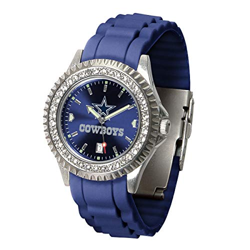 Game Time NFL Dallas Cowboys Womens SparkleWrist Watch, Team Color, One Size (Watches Ladies Cowboys)