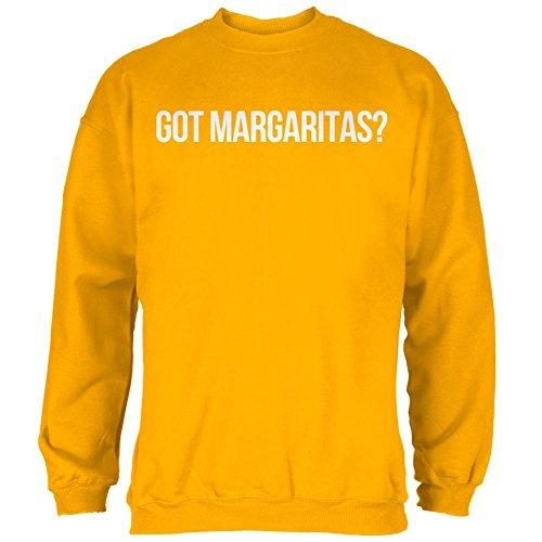Old Glory Cinco de Mayo Got Margaritas Mens Sweatshirt Gold SM (Margarita Got)
