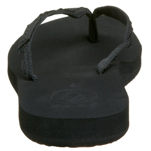 Reef GINGER BLACK/AQUA 2 R1660BQ2 - Chanclas para mujer Negro (Schwarz/Black/Black)