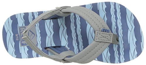 Large Product Image of Reef Kids Sandals Ahi   Flip Flops for Toddlers, Boys, Girls With Soft Cushion Footbed   Waterproof