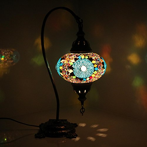 Chic Superbe Turque Mosaique Lampe De Table S Type Turque Marocain